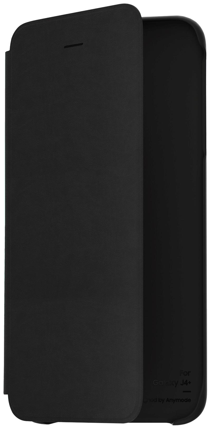 Etui folio Samsung Galaxy J4+ noir