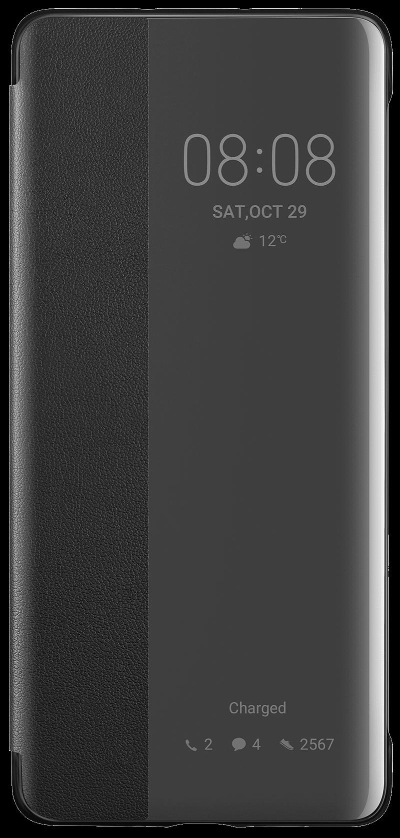 Etui View Huawei P30 Pro noir