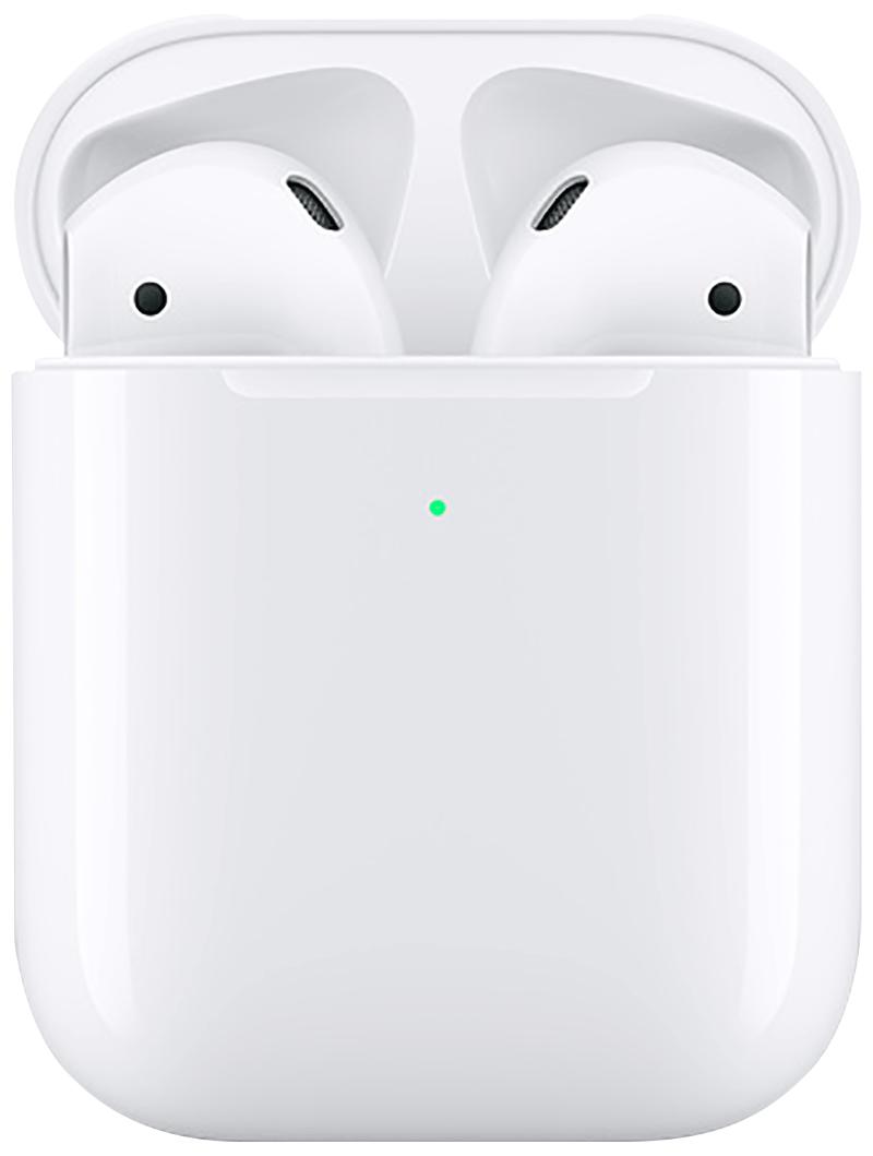 AirPods avec boîtier de charge sans fil