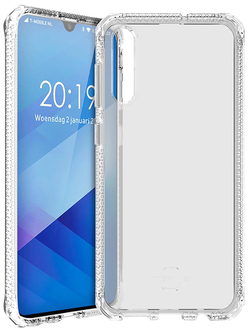Coque renforcée Galaxy A50 Itskins transparente