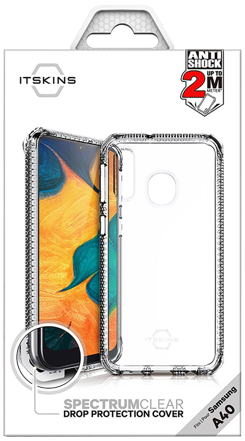 Coque renforcée Galaxy A40 Itskins transparente