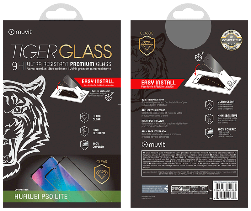 Film Tiger Glass Huawei P30 lite transparente