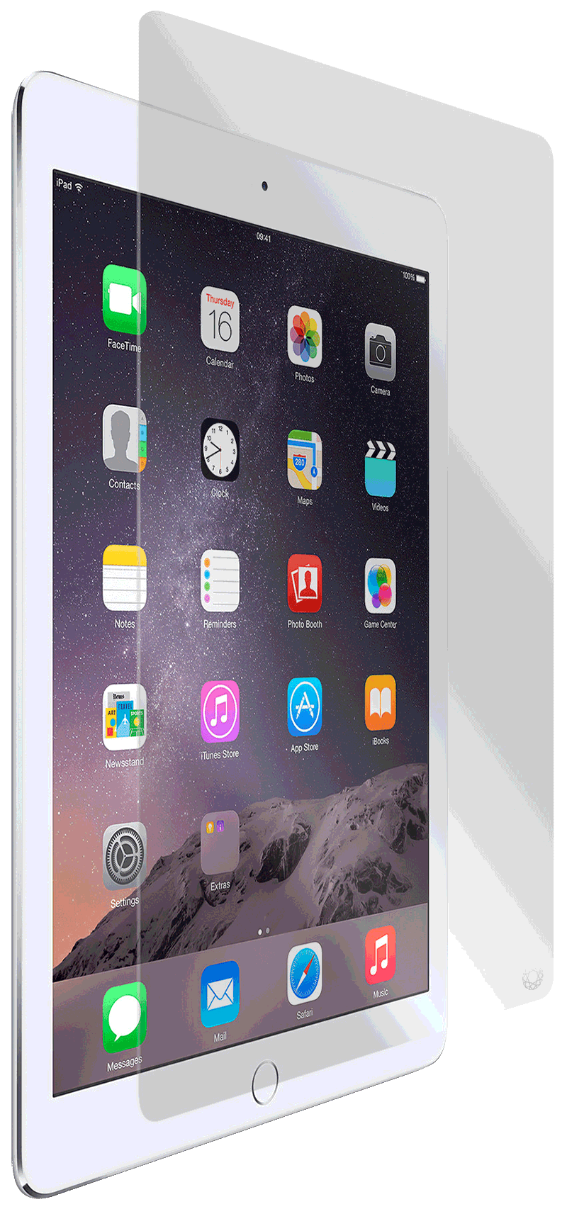 Film Force Glass iPad 9.7 2018 transparente