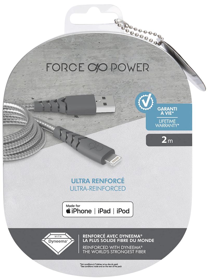 Câble Force Power Lightning noir