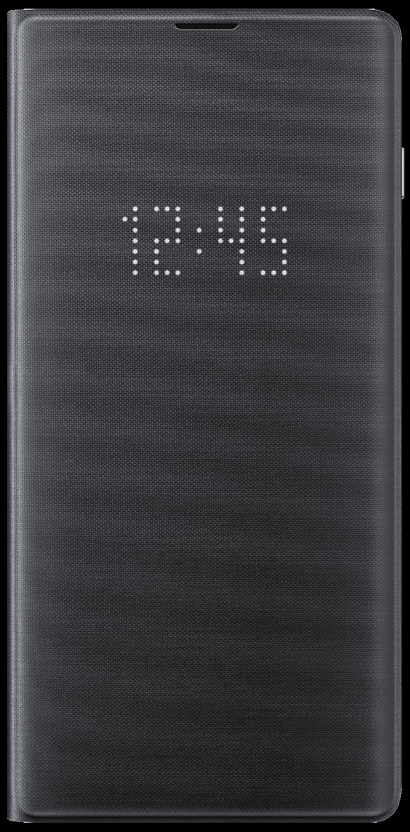 Etui Led View Galaxy S10 Plus noir