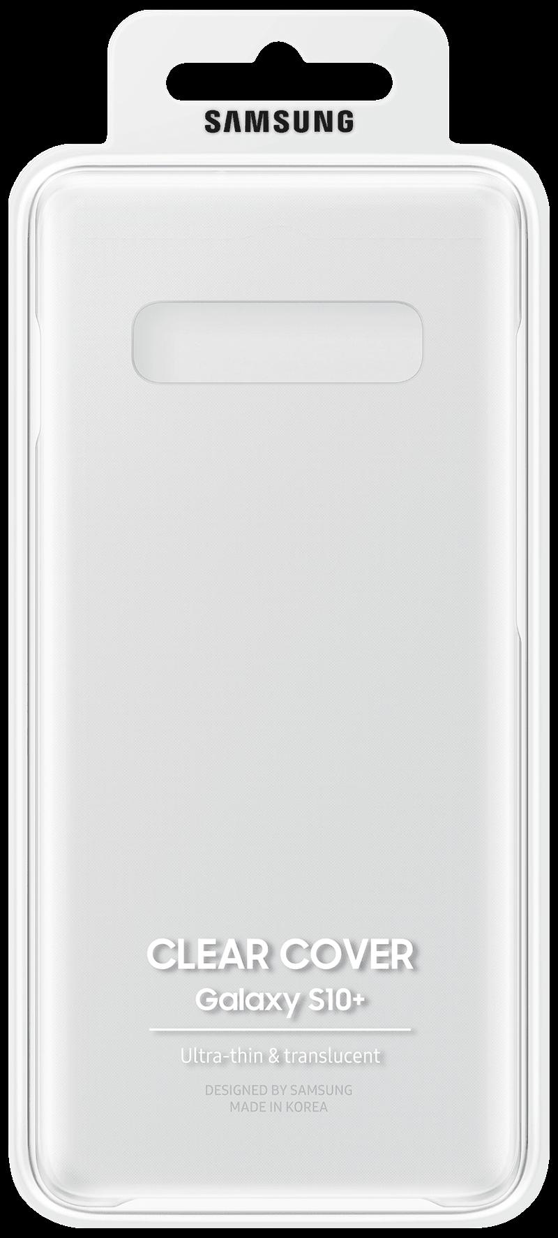 Coque Galaxy S10 Plus transparente