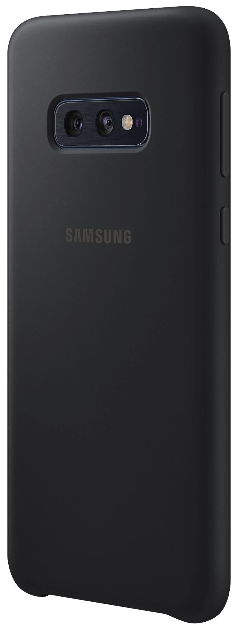 Coque Samsung silicone Galaxy S10e noir