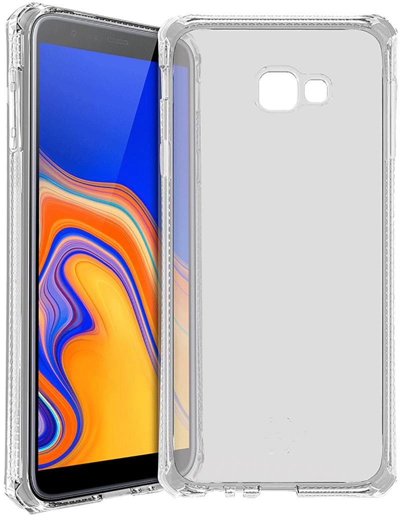 Coque renforcée Galaxy J4+ Itskins transparente