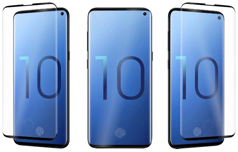 Coque Optiguard Infinity Glass Galaxy S10 transparente