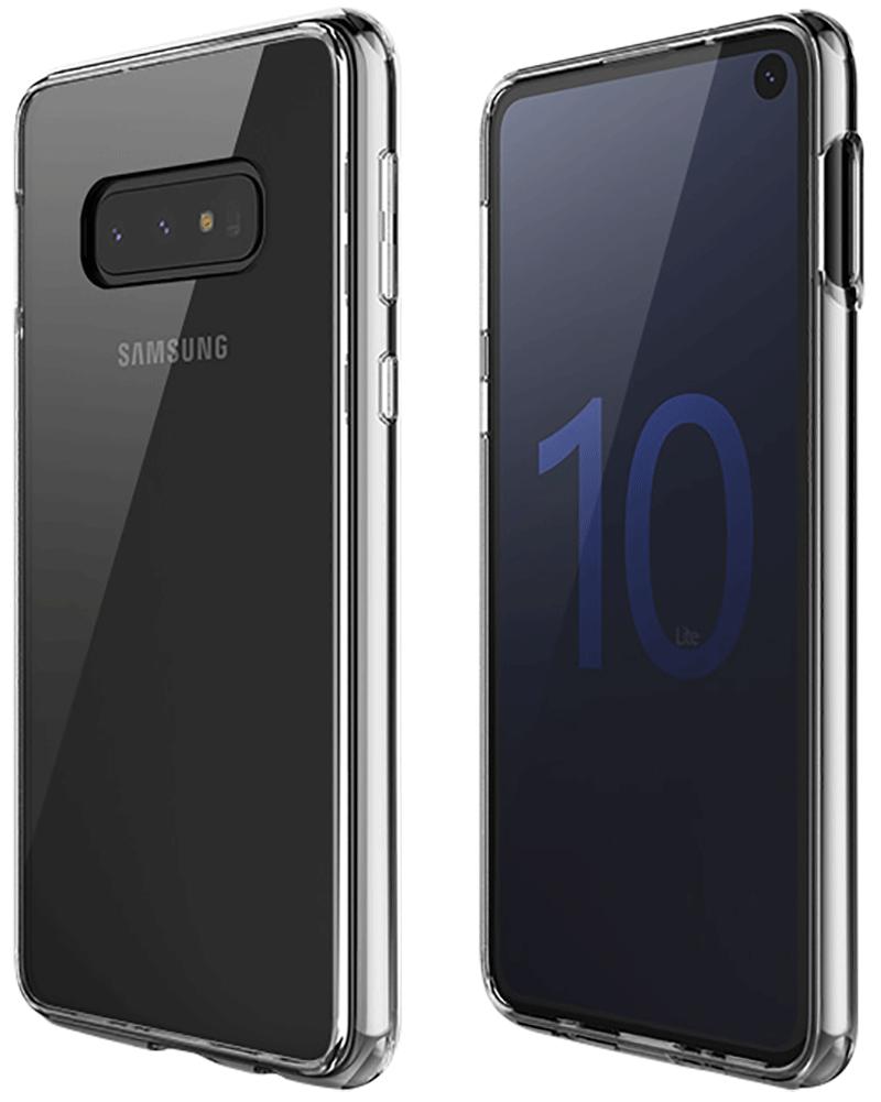 Coque Hybrid QDOS Galaxy S10e transparente