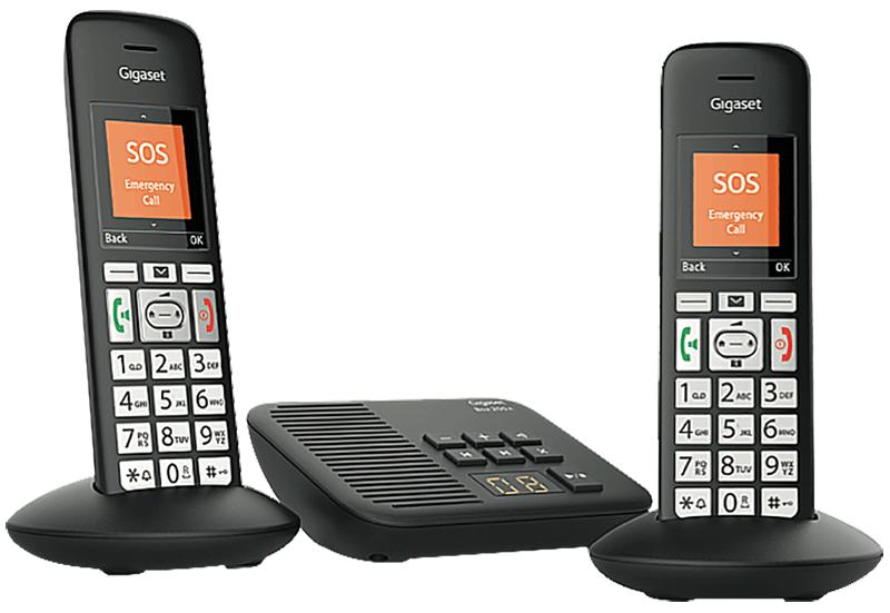 Téléphone fixe Gigaset E375 A duo répondeur