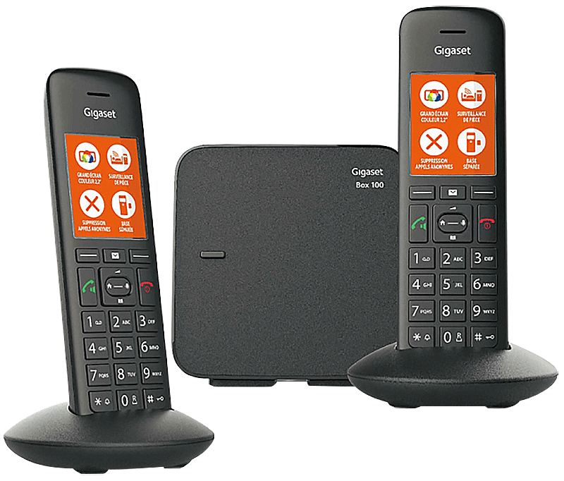 Téléphone fixe Gigaset E375 Duo