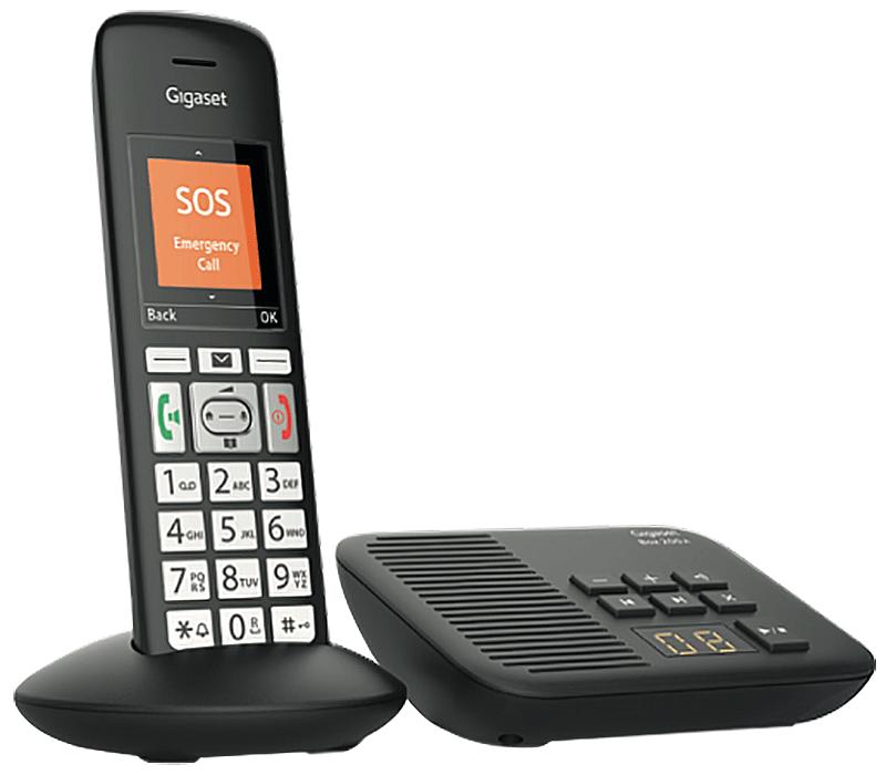 Téléphone fixe Gigaset E375 A solo répondeur
