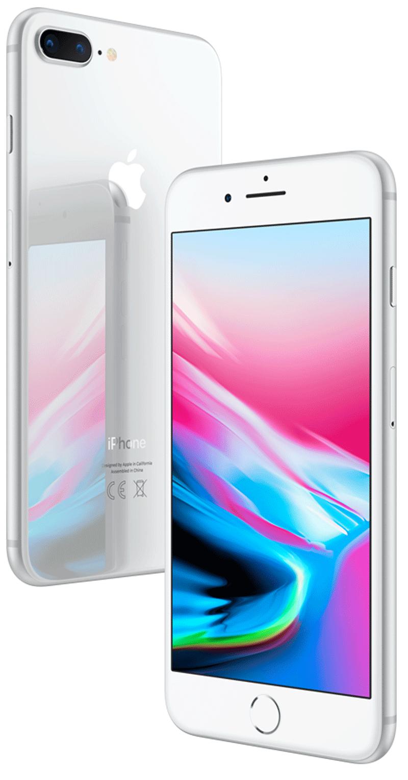 Apple iPhone 8 Plus Argent 64Go