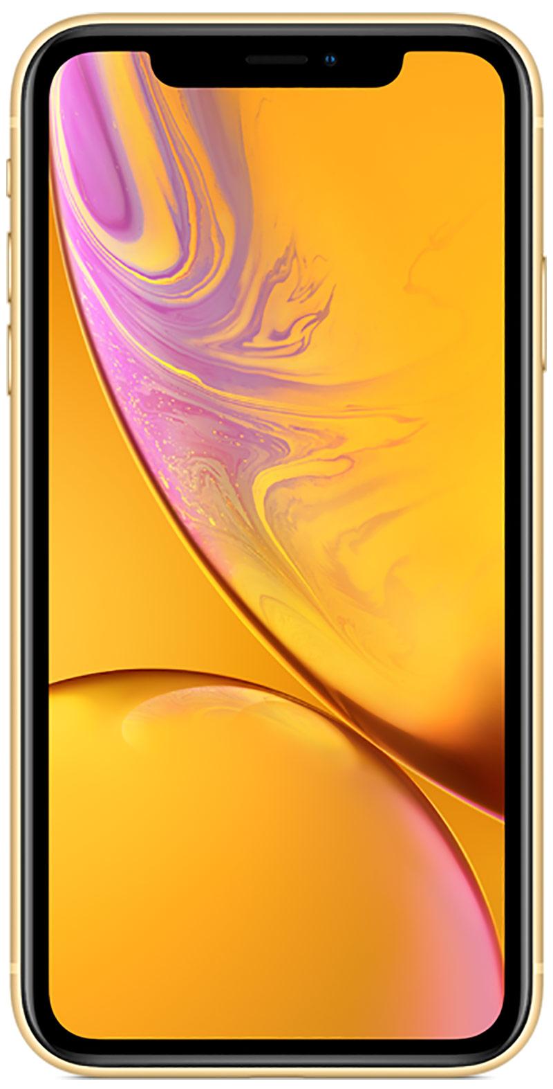 Apple iPhone XR jaune 64Go
