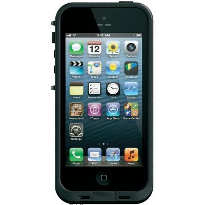 Coque étanche Lifeproof noire Iphone 5c