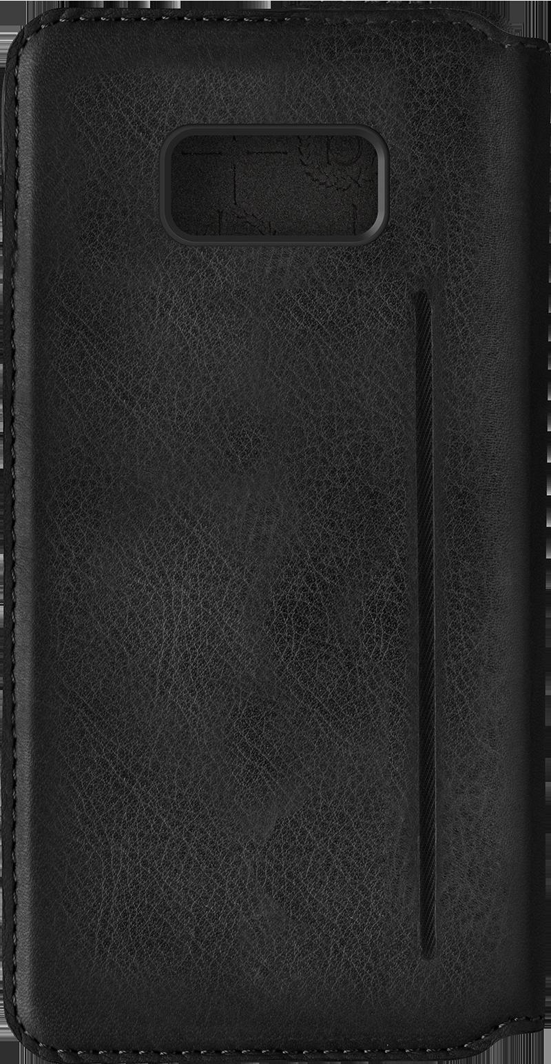 Etui folio noir Bugatti pour Galaxy S8+