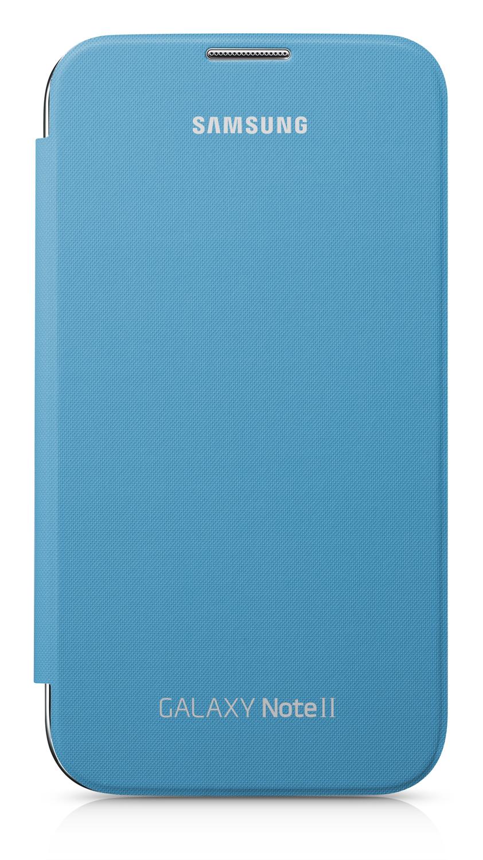 Etui Folio Samsung Galaxy Note 2 azur