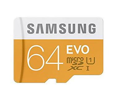 Carte micro SD 64Go Samsung adaptateur USB