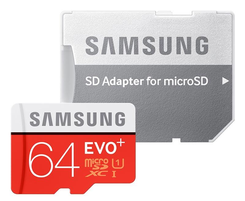 Carte micro SD 64Go Samsung adaptateur SD