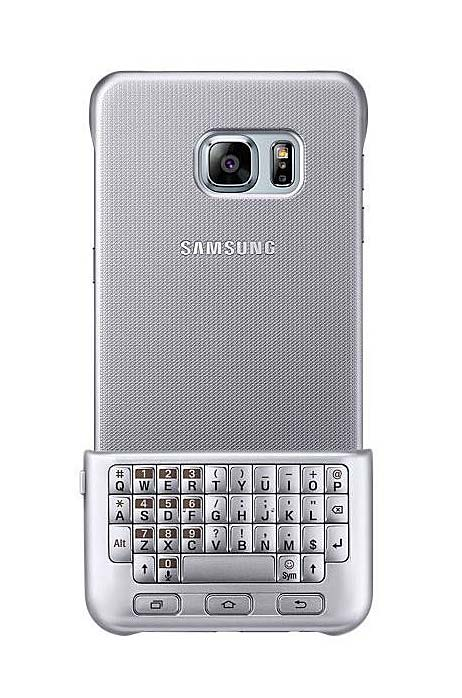 Keyboard Cover argent Galaxy S6 Edge+