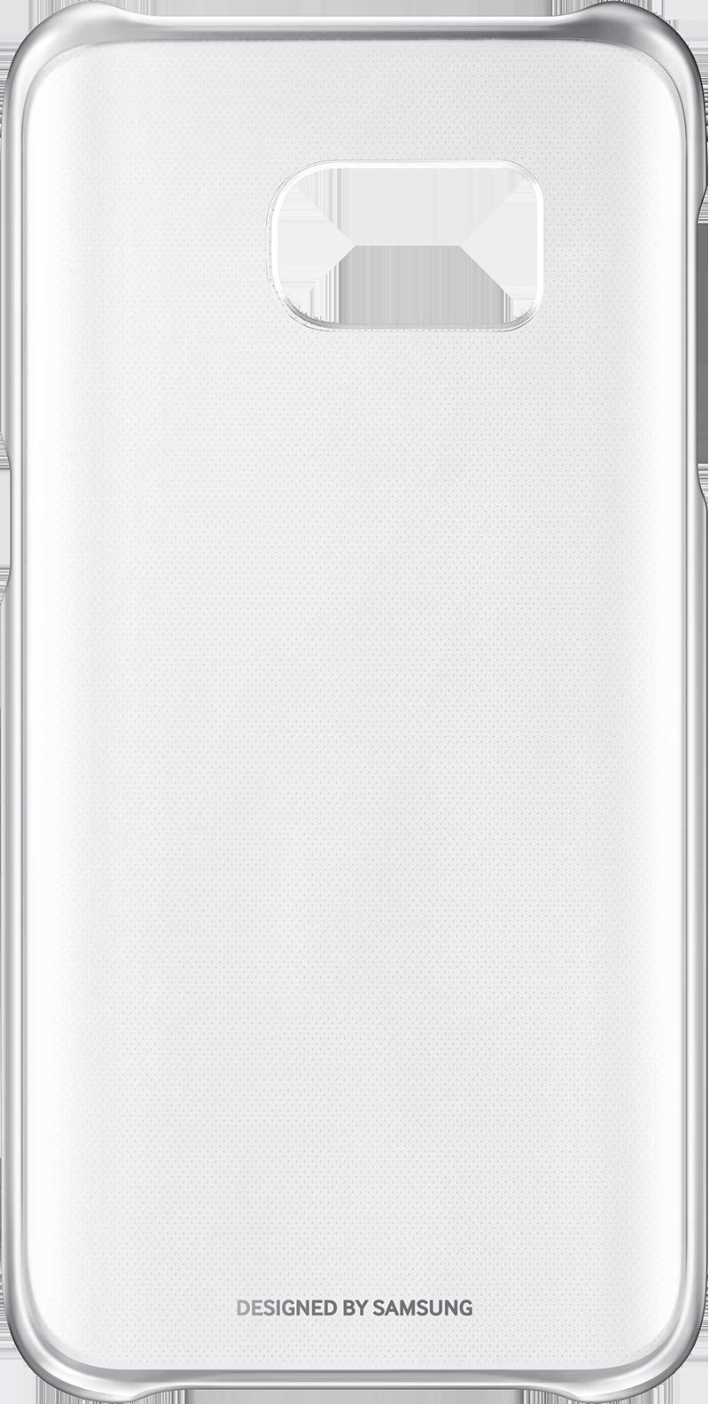 Coque transparente Samsung Galaxy S7 Argent