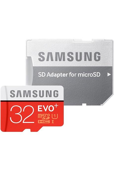 Carte Micro SD EVO PLUS Samsung avec adaptateur SD 32 Go