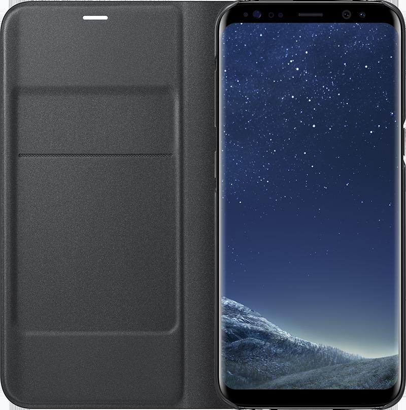 Etui Led View Galaxy S8 noir