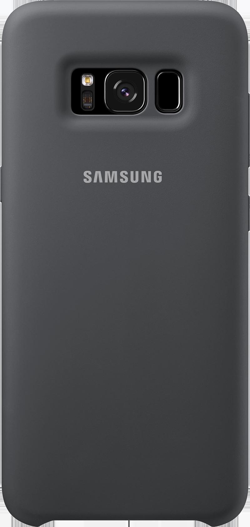 Coque Samsung silicone Galaxy S8 noir