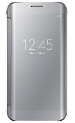 Clear View Samsung Galaxy S6 Edge Silver