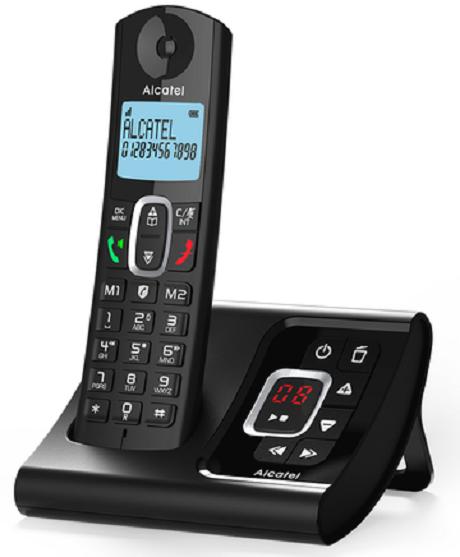 Téléphone fixe Alcatel F685 Voice Duo noir avec répondeur