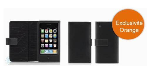 Etui Folio Cuir Belkin  iPhone 3G 3GS