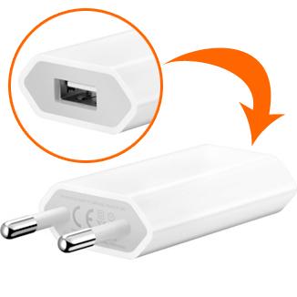 Chargeur Secteur Apple MB707