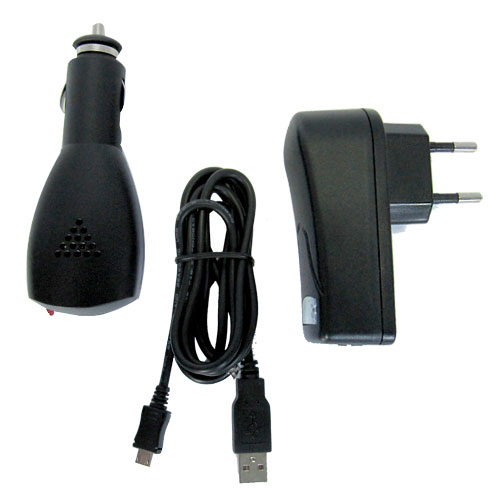 Pack Charge Micro USB 3 en 1