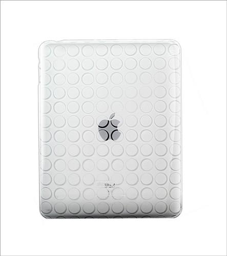 Coque Silicone Blanc Dexim pour iPad 1