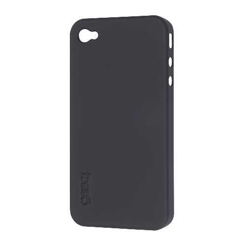 Coque Thin Ice iPhone 4 Noir Gear4
