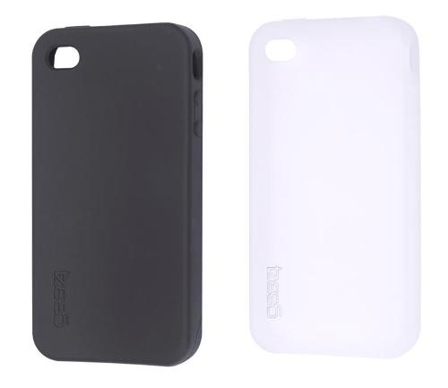 2 Etuis Silicone Gear4 iPhone 4