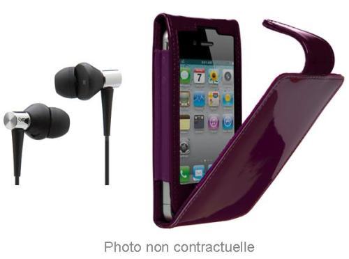 Pack Chic Cygnett iPhone 4 Violet