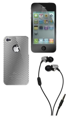 Pack Color Silver iPhone 4