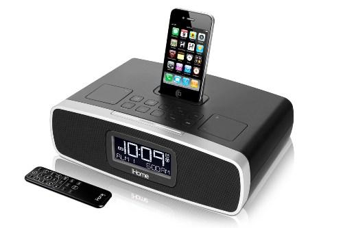 Station radio-réveil iHome iP90 iPhone, iPod
