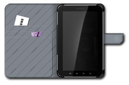 Etui Cuir Noir Samsung Galaxy Tab 7 pouces