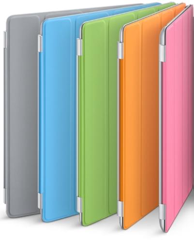 Smart Cover Apple iPad 2 MC944 bleu