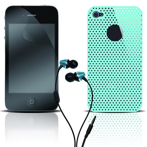 Pack Color Bleu iPhone 4
