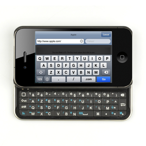 Coque Clavier Coulissant iPhone 4 iPower