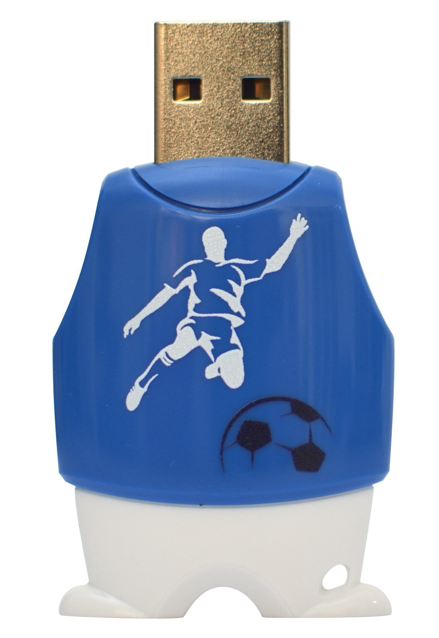 Clé USB 2.0 8Go Flash Drive Foot