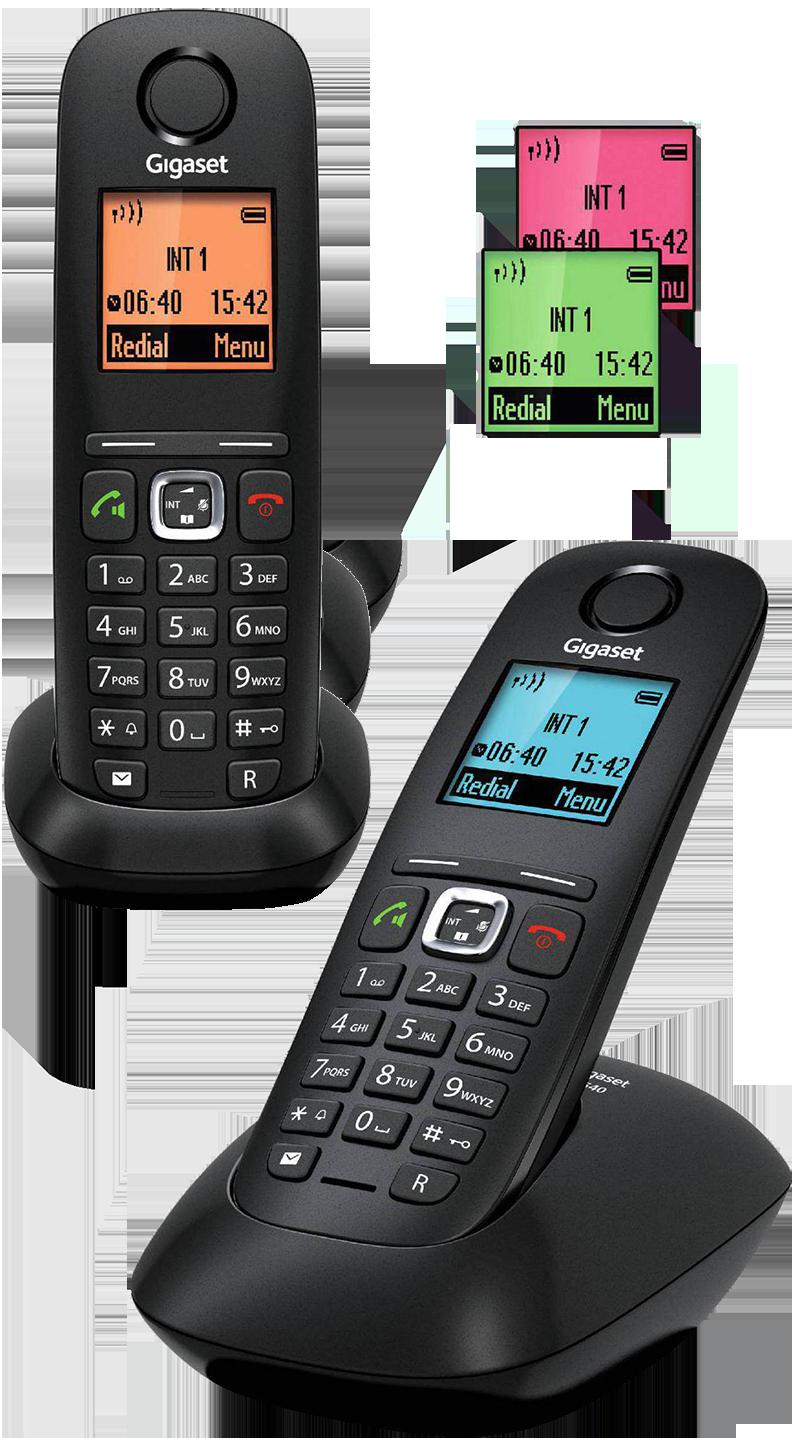 Téléphone fixe DECT Gigaset A540 duo