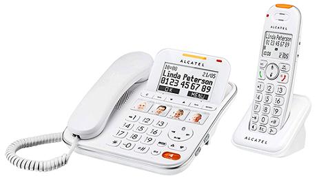 Téléphone fixe Alcatel XL 650 Combo Voice duo Répondeur