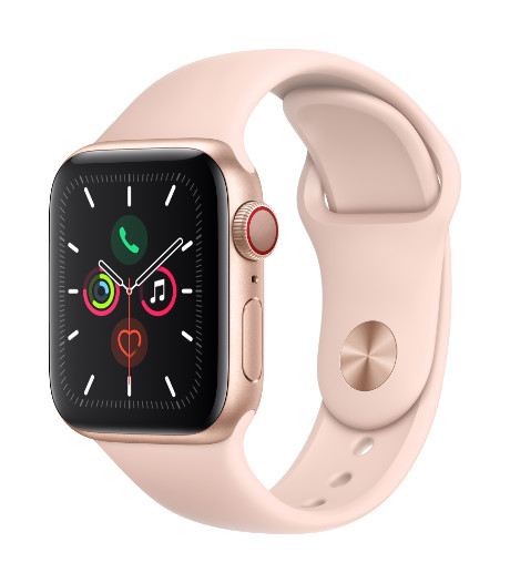 Apple Watch Series 5 4G boitier Alu 40mm or 32Go