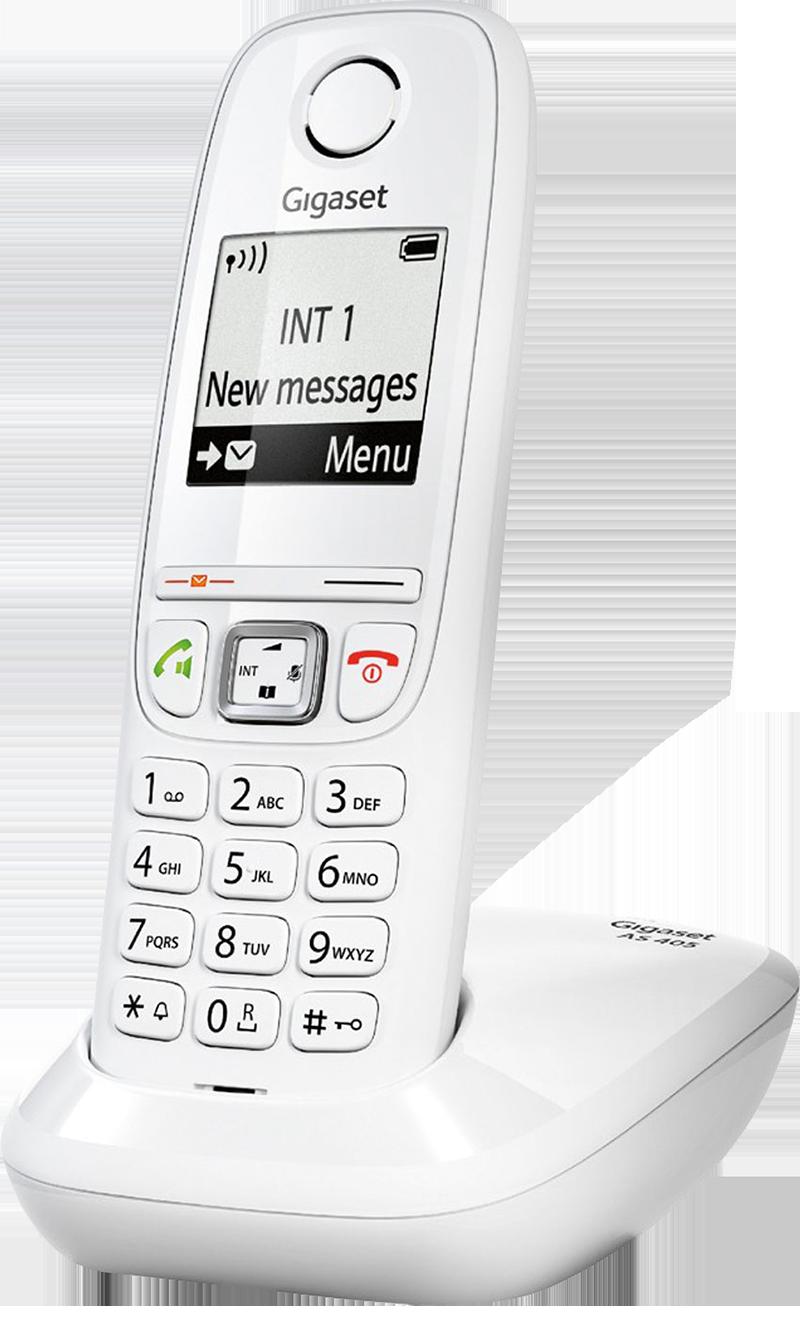 Téléphone fixe Gigaset AS 405 Solo Blanc