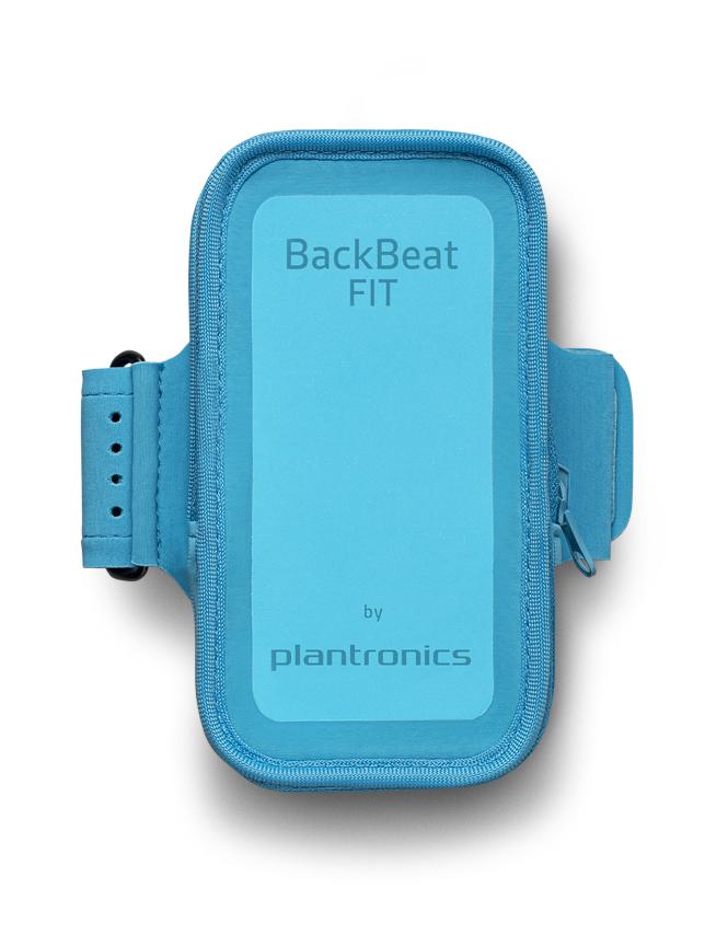 Back beat fit Plantronics bleu